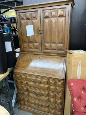 Storage cabinet /secretary desk for Sale in Chicago, IL