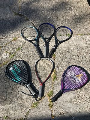 6 Tennis Rackets *Used for Sale in Seattle, WA