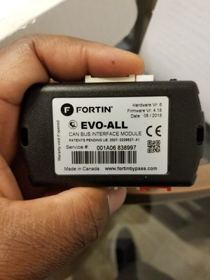 Fortin start X remote start for ford f150 for Sale in Cedar Falls, IA