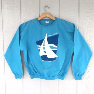 Vintage Hawaii Crewneck Sweatshirt Maui Beach Sweater Chamarra for Sale in Santa Ana, CA