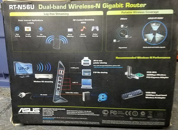 Asus RT-N56U 300 mbps Dual Band Router