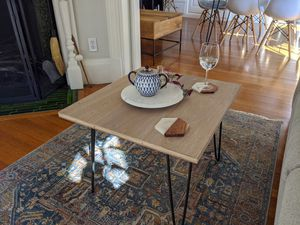 Coffee tables (handcrafted, new) mid-century modern, free delivery for Sale in Cambridge, MA