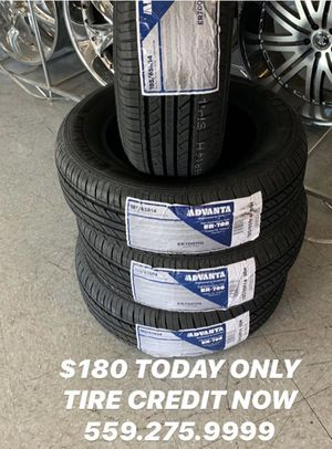 Today only carrry out 185-65-14 new tires for Sale in Fresno, CA