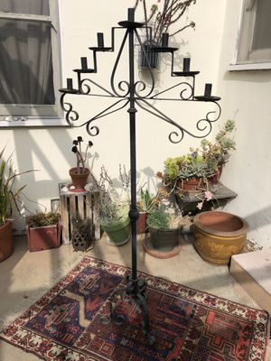 Large Wrought Iron Candelabra for Sale in Los Angeles, CA