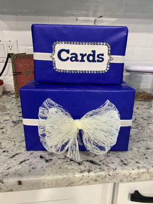 Wedding card box for Sale in Port St. Lucie, FL