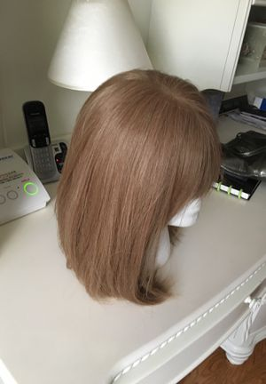 Wig, beautiful, totally realistic looking. Classic look that never goes out of style. Brand New, Never Worn. Originally paid $240. for Sale in Buffalo, NY