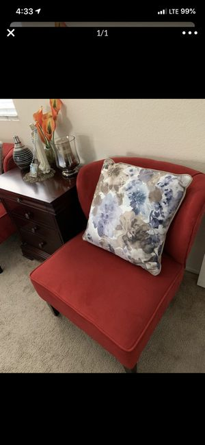 Beautiful red chairs X2 for Sale in El Cajon, CA
