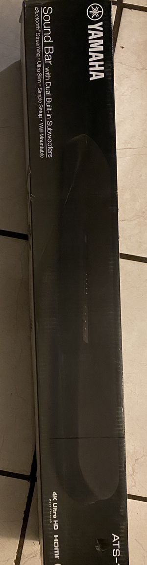 Yamaha sound bar Bluetooth speaker for Sale in Rowland Heights, CA