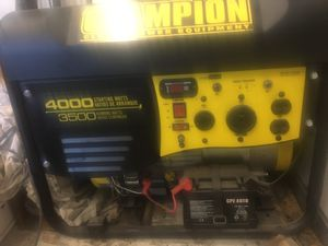 CHAMPION GENERATOR (never used) for Sale in Dade City, FL