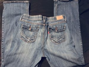 Levi's 525 boot cuts jeans size 16 medium stonewash for Sale in DeBary, FL