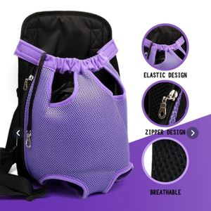 Medium Purple Pet Dog, Cats Carrier Backpack Canvas Front Bag Legs Out for Sale in Queens, NY