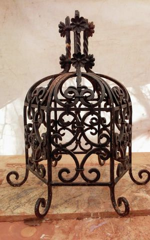 Antique Handwrought Iron architectural piece for Sale in Tonto Basin, AZ
