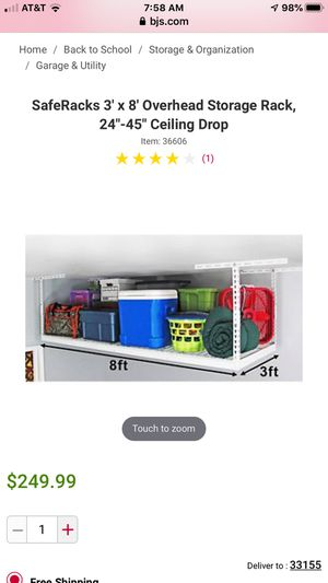 Overhead storage rack for Sale in Miami, FL