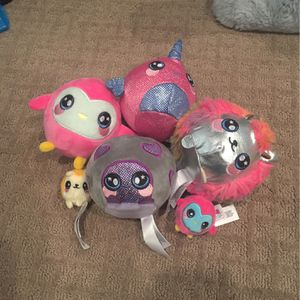 Squeezamals Plushies for Sale in Massapequa, NY
