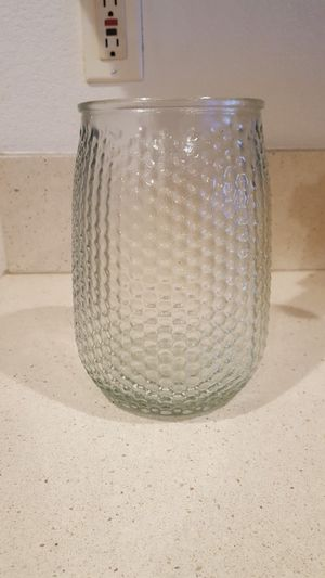"""8"""" TALL GLASS VASE for Sale in Escondido, CA"""