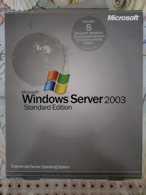 Windows Server 2003 Standard Edition for Sale in Cranston, RI