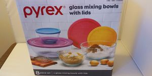 8 Piece Set of Pyrex for Sale in Everett, WA