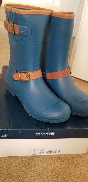 Sperry rain boots for Sale in Kissimmee, FL