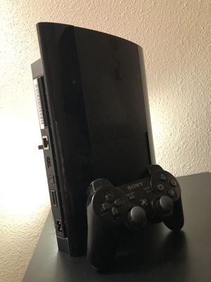 PS3 SUPER SLIM 500GB with controller for Sale in Fort Drum, NY
