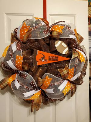 Browns team Wreaths for Sale in Lancaster, OH