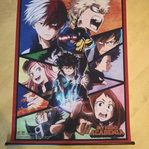 My Hero Academia Poster/scroll for Sale in Salinas, CA