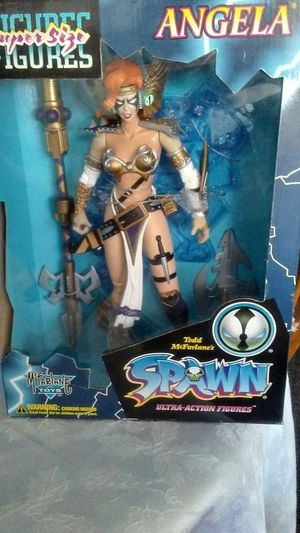 Mcfarlane toys Spawn supersize figure Angela for Sale in Lakeland, FL