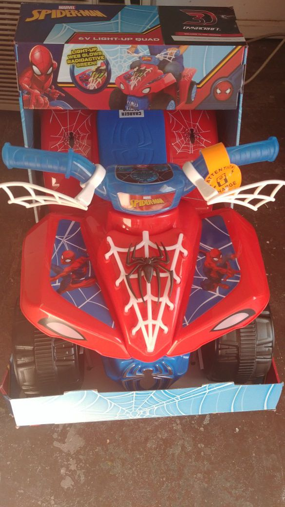 Spider-Man 6V Quad