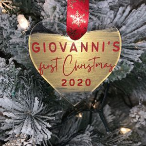 Personalized Christmas Ornaments for Sale in Los Angeles, CA