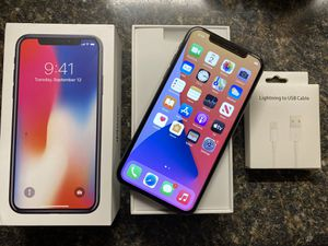 iPhone X 64GB Tmobile Only✅Price Firm for Sale in Chicago, IL