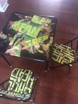 Kids table and chair for Sale in Lawrenceville, GA