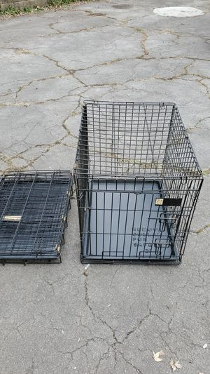 Two small collapsible dog crates for Sale in Pittsburgh, PA