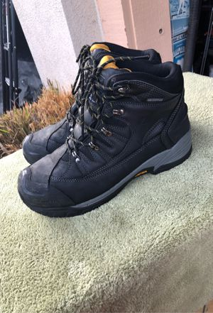 Vibram water proof work boots size men's 12M for Sale in Corona, CA