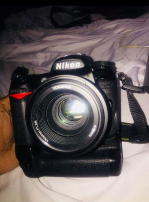 Nikon D D7000 16.2MP Digital SLR Camera - Charger (Body & Lens) 13,079 Shutter for Sale in Los Angeles, CA