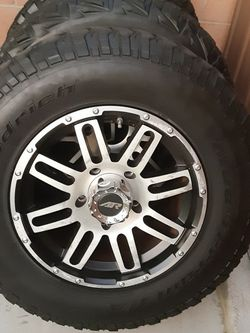 Toyota tundra Wheels/rims And Tires 5 Lugs for Sale in Long Beach,  CA
