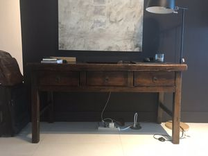 Antique Vintage Wood Desk/Console Table for Sale in Miami, FL