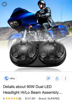 Led headlights for Harley Davidson road glide 2003-2014 for Sale in Los Angeles, CA