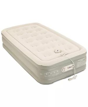 "Aerobed Premier 2-Layer 16"" Twin Air Mattress with Built-In Pump for Sale in Gresham, OR"
