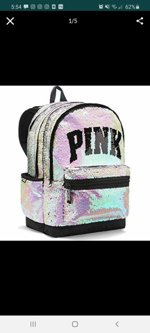 Pink Bling Campus backpack for Sale in Apopka, FL