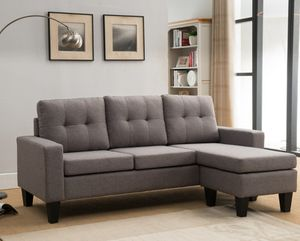 "Light grey sectional sofa 77""x57"" for Sale in Baldwin Park, CA"