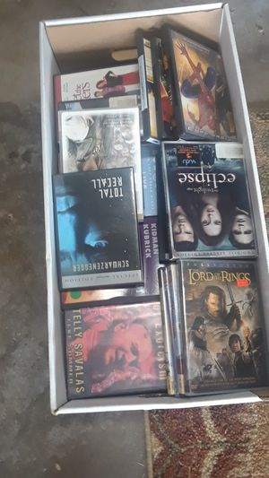 Box of almost 100 DVD movies for Sale in Gibsonia, PA