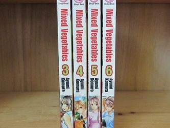 Mixed Vegetables manga volumes 3, 4, 5, 6 for Sale in Seattle,  WA