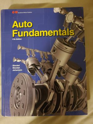 Auto Fundamentals 11th Edition for Sale in Anaheim, CA