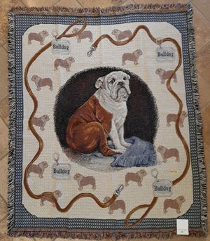 Bulldog Tapestry Throw for Sale in Riverside, CA