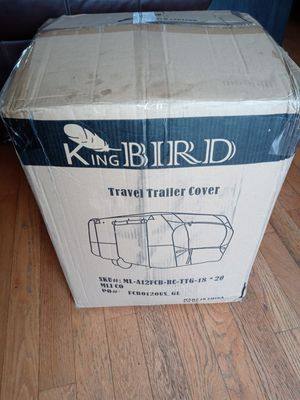 RV Trailer cover for a 18-20ft Travel trailer KingBird. $200 for Sale in Vancouver, WA