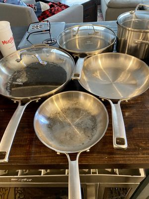 Calphalon Classic Stainless Steel Pots and Pans for Sale in Norfolk, VA