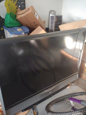 This is a JVC projector TV 60 in for Sale in Lake Ann, MI