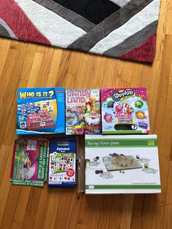 Assorted kids board games for Sale in Providence,  RI