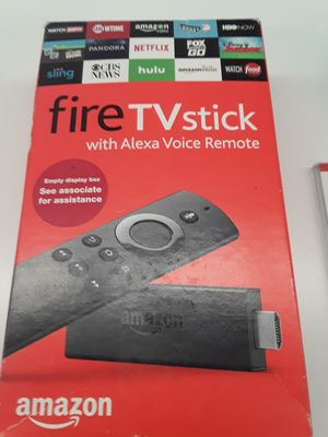 Amazon Firestick with Alexa for Sale in McDonogh, MD