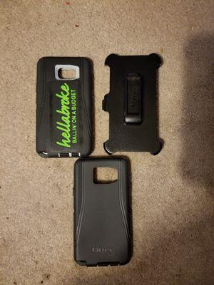 Note 5 otterbox defender with holster for Sale in BRECKNRDG HLS, MO