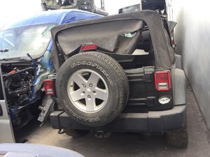 2012 Jeep Wrangler for parts parting out oem part partes for Sale in Miami Gardens, FL